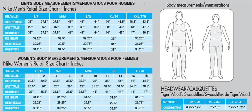 Nike Dri Fit Shirt Size Chart Shirts Size Chart Nike Dri